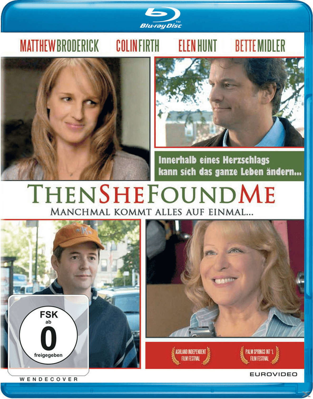 Then She Found Me - (Blu-ray)
