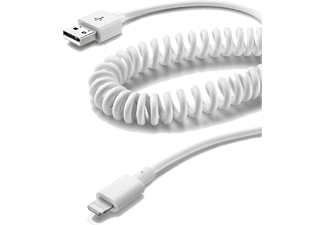 CELLULARLINE Charge & Sync Lightning-kabel voor auto (USBDATACOIMFIIPH5)
