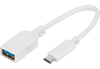 VIVANCO 45284, USB Typ C Adapter 10 cm, 0.1 m