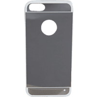 V-DESIGN MIR 004 Backcover Apple iPhone 5, iPhone 5s, iPhone SE Thermoplastisches Polyurethan Silber