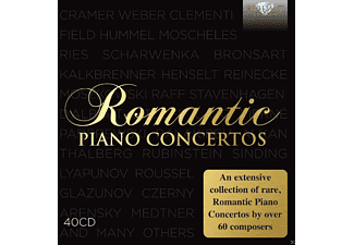 VARIOUS - Romantic Piano Concertos - (CD)