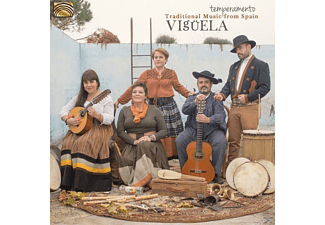 Viguela - Temperamento-Traditional Music From Spain - (CD)