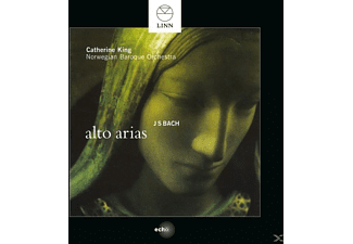 Catherine King, Norwegian Baroque Orchestra - Alto Arias - (CD)