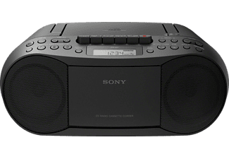 sony cd radio kassettenrecorder cfds70b schwarz mediamarkt. Black Bedroom Furniture Sets. Home Design Ideas