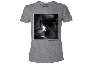 Dark Souls T-Shirt -XL- The Bonfire, Grau