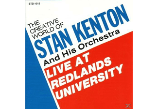 Stan Kenton, His Orchestra - Live At Redlands University - (CD)