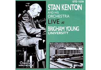 Stan Kenton, His Orchestra - Live At Brigham-University - (CD)