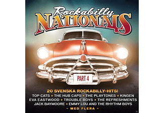 VARIOUS - Rockabilly Nationals-Part 4 - (CD)