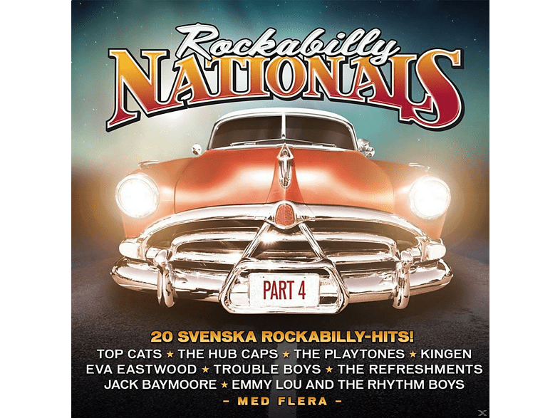 VARIOUS - Rockabilly Nationals-Part 4 [CD]