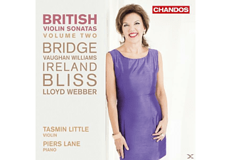 Tasmin Little, Lane Piers - British Violin Sonatas Vol.2 - (CD)