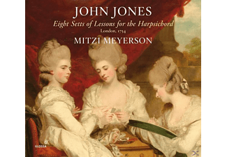Meyerson Mitzi - Eight Setts of Lessons for the Harpsichord (1754) - (CD)