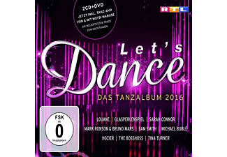 VARIOUS - Let's Dance - Das Tanzalbum 2016 (Inkl. Bonus-DVD) - (CD + DVD Video)
