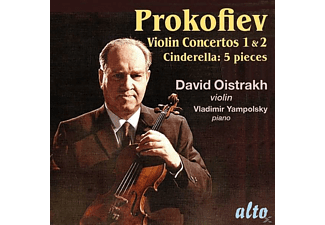 D.Oistrach/K.Kondrashin/Moscow Philharm.Orch. - Violinkonzerte 1 & 2/5 Pieces from Cinderella - (CD)