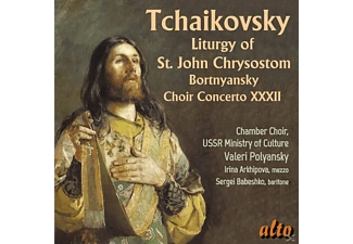Ussr Ministry Of Culture Chamber Choir - Liturgy of St John Chrysostom/Concerto for Choir - (CD)