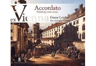 Gunar Letzbor, Ars Antiqua Austria - Accordato-Ex Vienna Vol.3 - (CD)