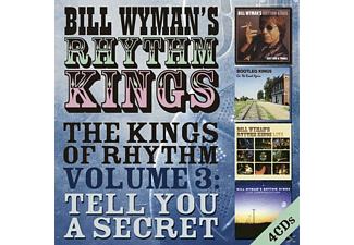 Bill Wyman's Rhythm Kings - The Kings Of Rhythm Vol.3: Tell You A Secret - (CD)