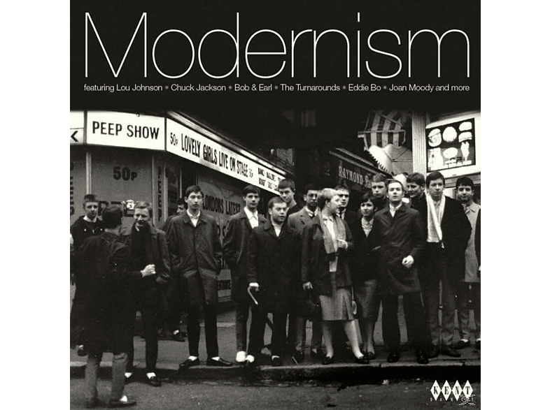 VARIOUS - Modernism-24 Tracks Of Hip-Shaking Club Soul And [CD]