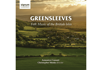 VARIOUS - Greensleeves-Folk Music Of The British Isles - (CD)