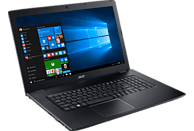 ACER Aspire E 17 ( E5-774G-363E), Notebook mit 17.3 Zoll Display, Core™ i3 Prozessor, 8 GB RAM, 128 GB SSD, 1 TB HDD, GeForce 940MX, Schwarz