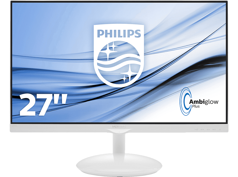PHILIPS  275C5QHGSW/00 27 Zoll Full-HD Monitor (5 ms Reaktionszeit) | 08712581735630