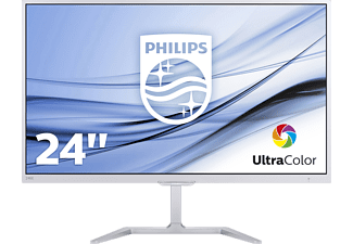 PHILIPS 246E7QDSW/00 23.6 Zoll Full-HD Monitor (5 ms Reaktionszeit, 60 Hz)