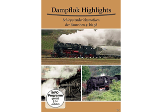 Dampflok Highlights Schlepptenderlokomotiven - (DVD)