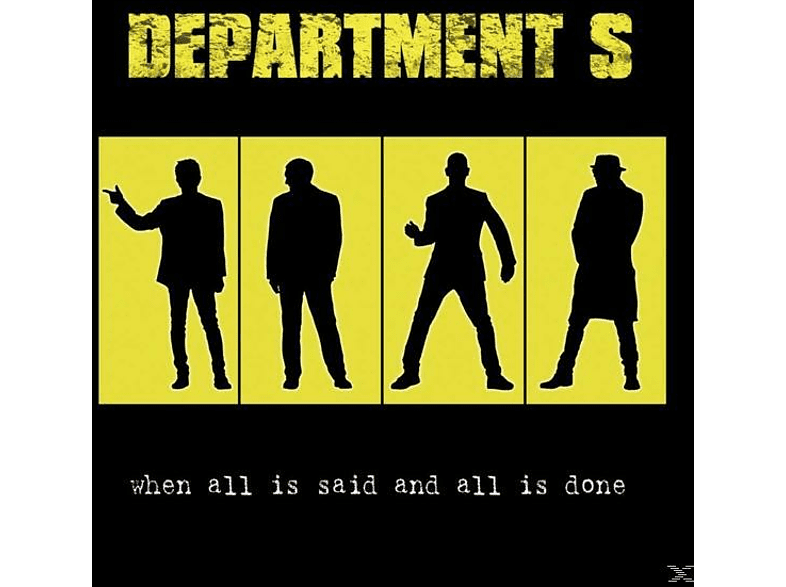 Department S - When All Is Said And All Is Done  [CD]