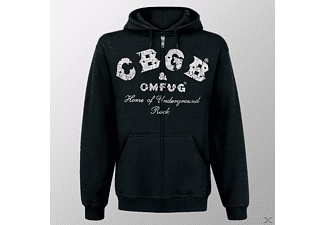 CBGB & Omfug Logo (Zipper L/Black)