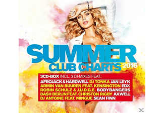 VARIOUS - Summer Club Charts 2016 - (CD)
