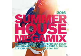 VARIOUS - Summer House Megamix 2016 - (CD)