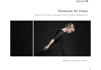 Natalia Ehwald - Fantasias for Piano - (CD)