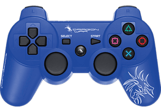 DRAGON WAR Dragon Shock draadloze controller PlayStation 3 Blauw (G-PS3-002)