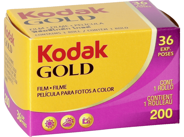 KODAK Gold 200 135/36 Film Color-Negativ-Film