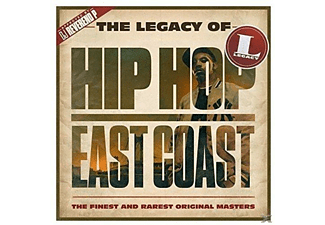 VARIOUS - The Legacy of Hip Hop East Coast - (CD)