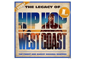 VARIOUS - The Legacy of Hip Hop West Coast - (CD)