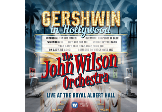 John Wilson Orchestra - Gershwin In Hollywood(Live At The Royal Alber - (CD)
