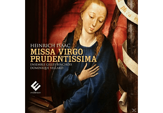 Dominique Vellard, Ensemble Gilles Binchois - Missa Virgo Prudentissima - (CD)