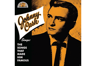 Johnny Cash Sings The Songs That Made Him Famous Country CD