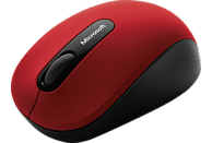 MICROSOFT Bluetooth Mobile Mouse 3600 Rot Maus, Rot