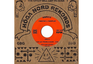 Timothy J. Fairplay - the cat prowls again / a strange servant - (Vinyl)