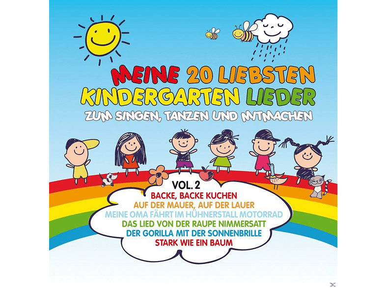 VARIOUS - Meine 20 Liebsten Kindergarten Lieder Vol.2 - (CD)