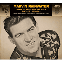 Marvin Rainwater - 3 Classic Albums Plus [CD]