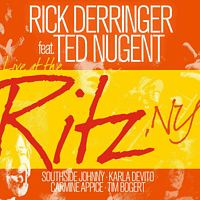 Rick Derringer, Ted Nugent - LIVE AT THE RITZ, NY [CD]