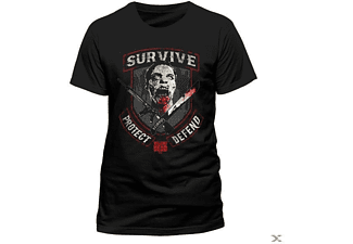 The Walking Dead - Survive (T-Shirt,Schwarz,Größe L)
