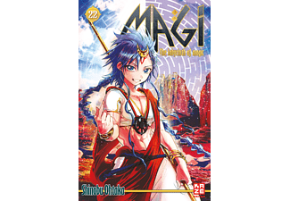 022 - Magi - The Labyrinth Of Magic, Anime (Taschenbuch)