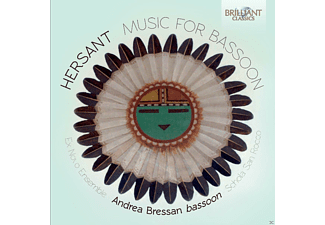 Andrea Bressan, Ex Novo Ensemble, Schola Cantorum San Rocco - Music For Bassoon - (CD)