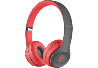 BEATS MKQ22ZE/A Solo2 Wireless Headphones, Active Collection - Siren Red