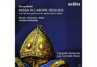 Johannes Strobl, Cappella Murensis, Les Cornets Noirs - Missa In Labore Requies - (CD)