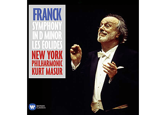 New York Philharmonic Orchestra, Kurt Masur - Symphony in D Minor / Les Éolides (CD)