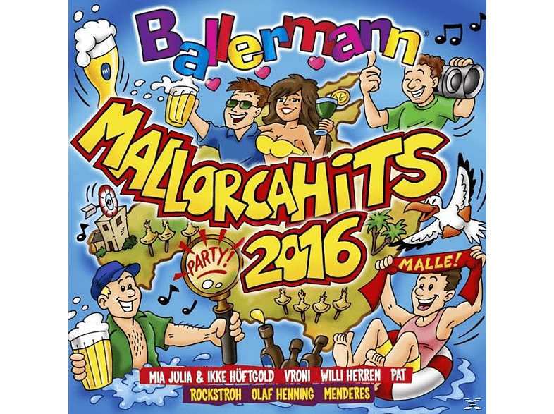 VARIOUS - Ballermann Mallorca Hits 2016 [CD]